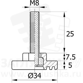 34М8-25ЧН