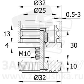 D32М10.D32x30
